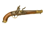 Revolutionary War flintlock pistol