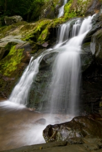 Dark hollow falls on Skyline drive, Shenandoah national park