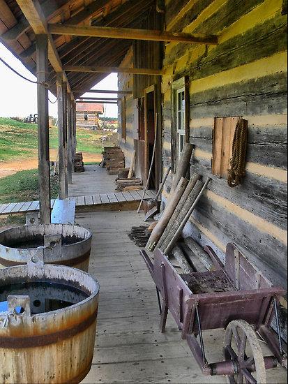 1700s American Farmhouse Colonial Life