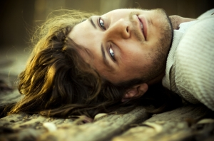 Jack--handsome frontiersman--good looking rugged man