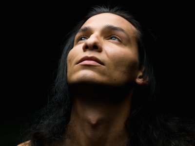 Native American Man Headshot