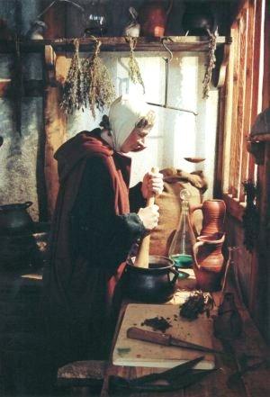 medieval apothocary