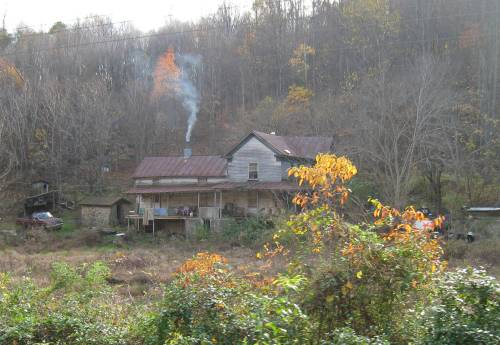 Old Home in the Blue Ridge Mountains