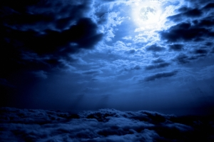 Ghostly night Sky