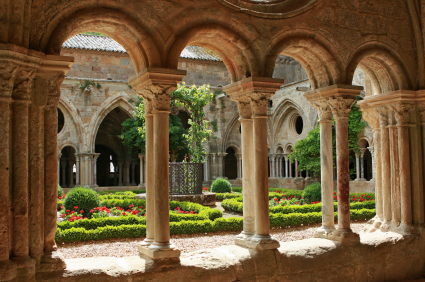 Pliny S Villa At Laurentum Courtyard