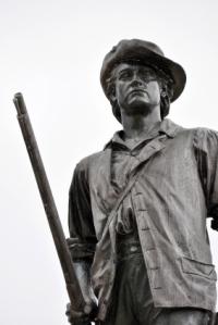 Minuteman Statue, American Revolution, Concord, Militia, Independence, Statue,