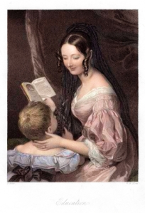 Mother and Child - Education--Victorian Era
