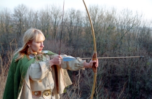 Archery, Women, Medieval, Warrior, Female, Bow, Arrow, Middle Ages, Fighting, History, Dress