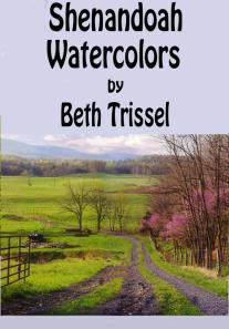 COVER FOR SHENANDOAH WATERCOLORS NONFICTION BOOK