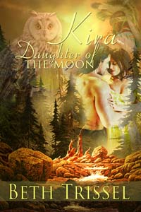 Historical romance novel Kira Daughter of the Moon