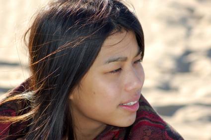 Beautiful apache women