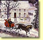 Early American Sleigh Ride