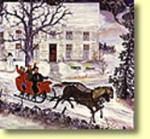Early American Sleigh Ride