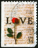 love stamp on post card (1)