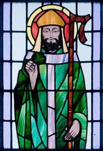 St. Benin's Church Window--St. Patrick