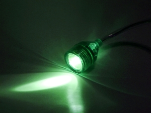 LED green flashlight