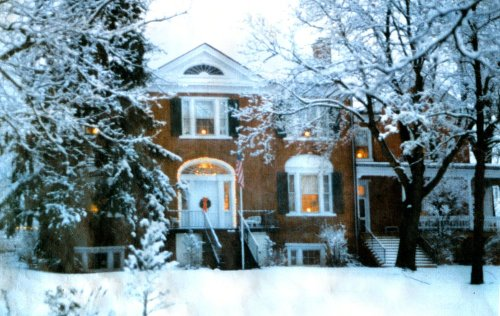 Chapel Hill at Christmas