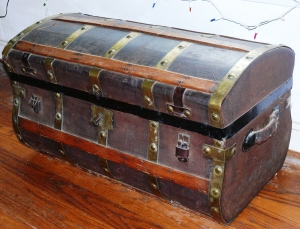 old family trunk