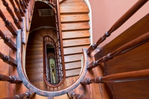 Old Victorian Staircase