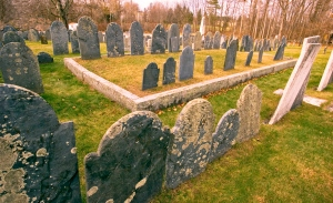 old colonial cemetary