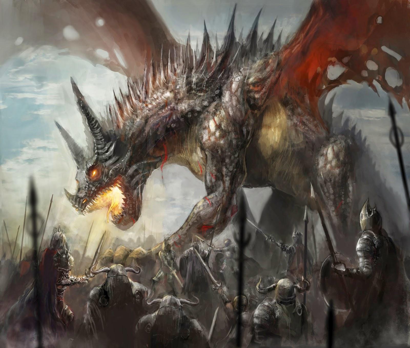 Struck Dragon Lightning