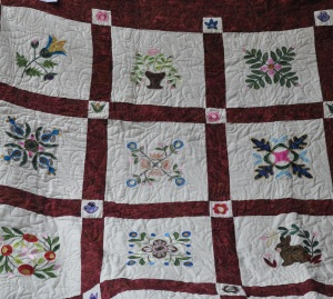 Quilt at the quilt show