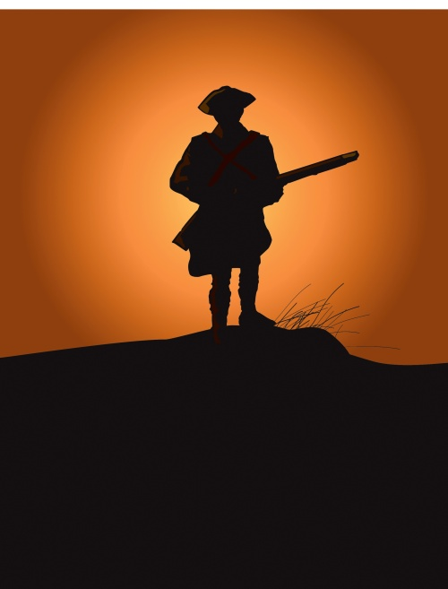 Colonial American Soldier