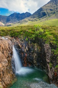 Isle Skye Waterfall