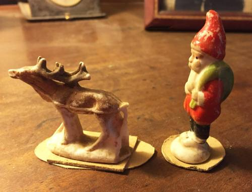 Santa figure from the 1930's